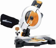 Evolution (powertools) 210mm 1200w multi-purpose table/scie à onglet 230v
