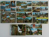 Postkarten Lot von MERAN Merano Südtirol Italien 8 Mehrbild-AK gelaufen ab 1963