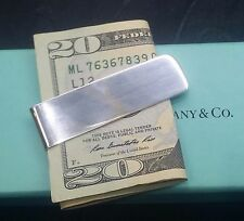 Pre-owned Sterling Silver Money Clip By Tiffany & Co.Makers