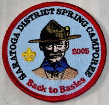Twin Rivers Council (NY) Saratoga Dist 2005 Spring Camporee Pocket Patch  BSA