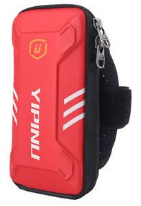 YIPINU Waterproof Small Fitness Running Bag Jogging Arm Bag 4-6'' Phone Holder
