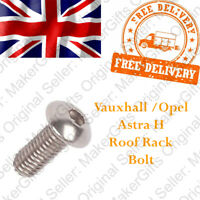 Vauxhall Opel Astra H Roof Bar Cover Replacement Rail Trim Rack Lid Screw Bolt