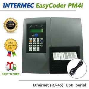 Intermec EasyCoder PM4i Thermal Transfer Label Printer PM4D010000000020 USB LAN