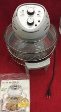 BIG BOSS Oil-Less Fryer Convection Oven 8605 8605TFE For Parts Or Repair