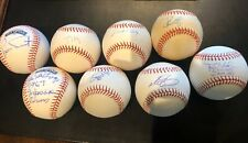 New ListingFrank Viola Signed Johnny Pesky Luis Tiant Autographed Red Sox 8 Baseball Lot