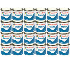 HUMBROL Enamel Paint Gloss Matt Satin Varnish 14ml Choose Colour Color Tinlet 2