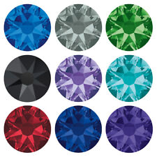Genuine SWAROVSKI 2058 & 2088 Flat Back Crystal NoHotfix* Various Colors & Sizes