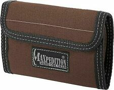 Maxpedition Knife Spartan Wallet Dark Brown 0229br