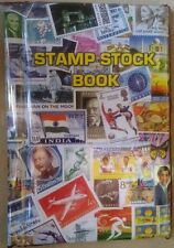 PLASTIC STAMP ALBUM (WATER PROOF & LONG LIFE) GOOD QUALITY - 20 PAGES