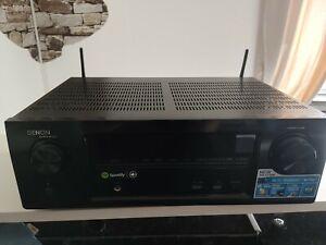 Denon AVR-X1100W 7 Channel netzwerk receiver 5 hdmi eingänge 1 hdmi ausgang top