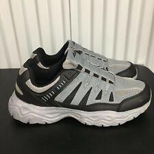 EUC Avia Men's Shoes Athletic Size 10 W Lightweight Gray Slip On Comfort Gel