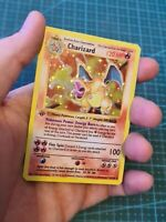 Proxy  Base Set Charizard / Glurak in Englisch Pokemon Card in Holo