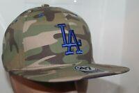 Los Angeles Dodgers '47 MLB Blockade Strapback Woodland Camo Hat,Cap       NEW
