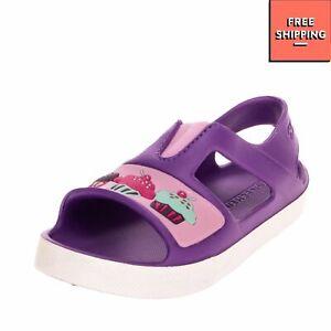 SKECHERS Rubber Slingback Sandals EU 24 UK 7 US 8 Lightweight Cupcakes Details