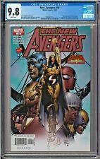New Avengers #10 CGC 9.8 White Sub-Mariner X-Men Inhumans Sentry Dr. Strange