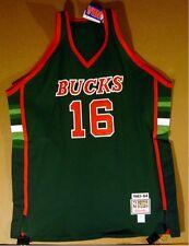 MILWAUKEE BUCKS BOB LANIER Green #16  Authentic MITCHELL & NESS NBA JERSEY