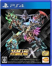 NEW PS4 Super Robot Wars X Premium Anime Song & Sound Edition Bandai From Japan