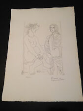"""Picasso """"Suite Vollard"""" Bloch #210, Limited Edition, Picasso Family Authorized."""