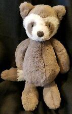 "Jellycat Bashful Raccoon Stuffed Animal, Medium, 12"""