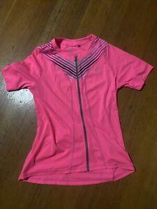 Pearl Izumi Select Cycling Jersey Womens XL Neon Pink