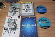 Metal Gear Solid 2 Sons of Liberty Limited the Best 2 Discs Ver PS2 Japan Import