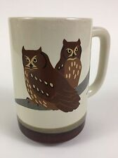 Otagiri Owl Coffee Mug Tea Cup Wendy Morgan Japan