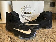 Nike Lebron 13 XIII Black Elite Battle Men's Basketball Shoes Size 13 Finals MVP