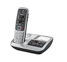 Gigaset E560A Dect-Großtasten Schnurlostelefon mit Basis und AB