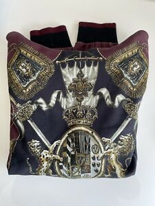 Dolce & Gabbana Royalty Knights Hoodie Size L (50)