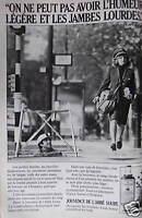 PUBLICITÉ 1980 JOUVENCE DE L'ABBÉ SOURY POUR DES JAMBES LÉGÈRES - ADVERTISING