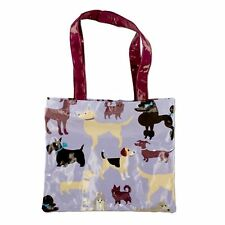 New Tote Bag Dog Theme All Weather Easy Carry Go Green Shopping Grocery Tote