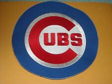 """AWESOME MLB CHICAGO CUBS IRON ON JACKET PATCH 8 3/4"""""""