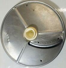 Vtg Robot Coupe R2 Food Processor Es4 4mm Slicing Disc
