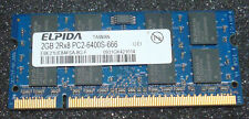 Elpida 2GB DDR2 800MHz PC2-6400S Laptop Memory - 1 Stick - Tested
