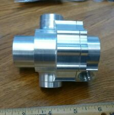 Waterman 2pc Pump Assembly Billet Machined Aluminum Free Ship