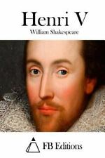 Henri V by William Shakespeare (2015, Paperback)