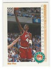 1992 STAR PICS BASKETBALL WALT WILLIAMS SS STARSTATS #36 - MARYLAND