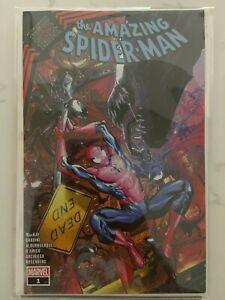 Amazing Spider-Man King In Black 1 Carlos Gomez Wal-Mart Exclusive Variant NM