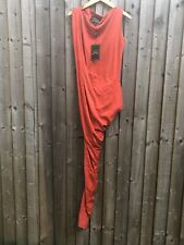 Vivienne Westwood Anglomania Vian One Shoulder Jersey Dress