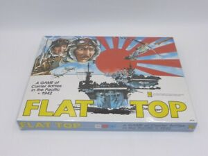 Avalon Hill Game FLAT TOP Carrier Battles in the Pacific Item 8930 SEALED NEW