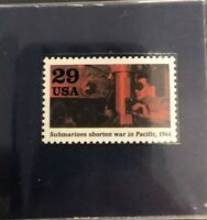 1944 Ten Cent Stamp Submarines Shorten War in Pacific GMA GEM MT 10