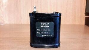 Parmeko 5H 200mA Oil Choke Plessey, Stc, Partridge, Gresham  (002)