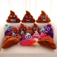 20cm UNIQUES POOP CACA famille Emoji emoticône oreiller peluche jouet coussin