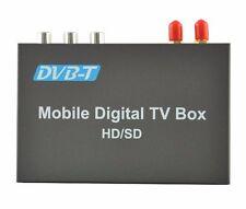 Car DVB-T MPEG-4 Dual Tuner 140-200KM/H DVB T SD Car Digital TV Tuner Receiver