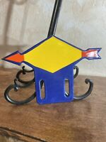 VINTAGE STYLE ''SUNOCO  '' LICENSE PLATE TOPPER 10X7 INCH. PLATE
