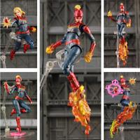 """Marvel Avengers 4 Endgame Captain Marvel 6"""" Action Figure KO's S.H. Figuarts SHF"""