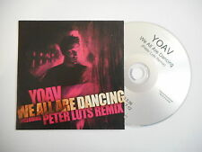 YOAV : WE ALL ARE DANCING ( PETER LUTS REMIX ) [ CD SINGLE ] ~ PORT GRATUIT
