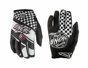 O'Neal Jump AFTERBURNER Full Finger Motocross /Cycling Gloves Size XL/10 Black