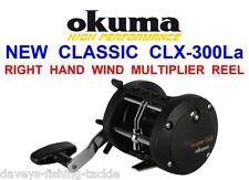 Okuma Classic CLX 300la Multiplier Reel