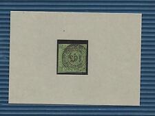 Baden / Nr.-Stpl. 163 Zell im Wiesenthal, klar, zentriert + gerade